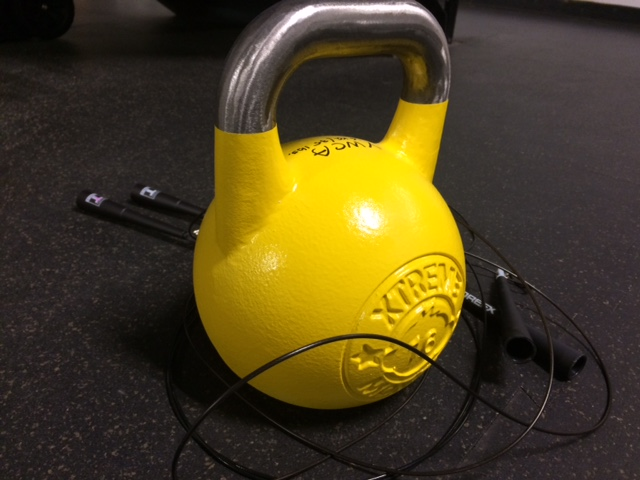 Kettle Bell and Skipping Rope