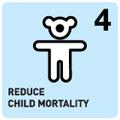 4 UN child mortality